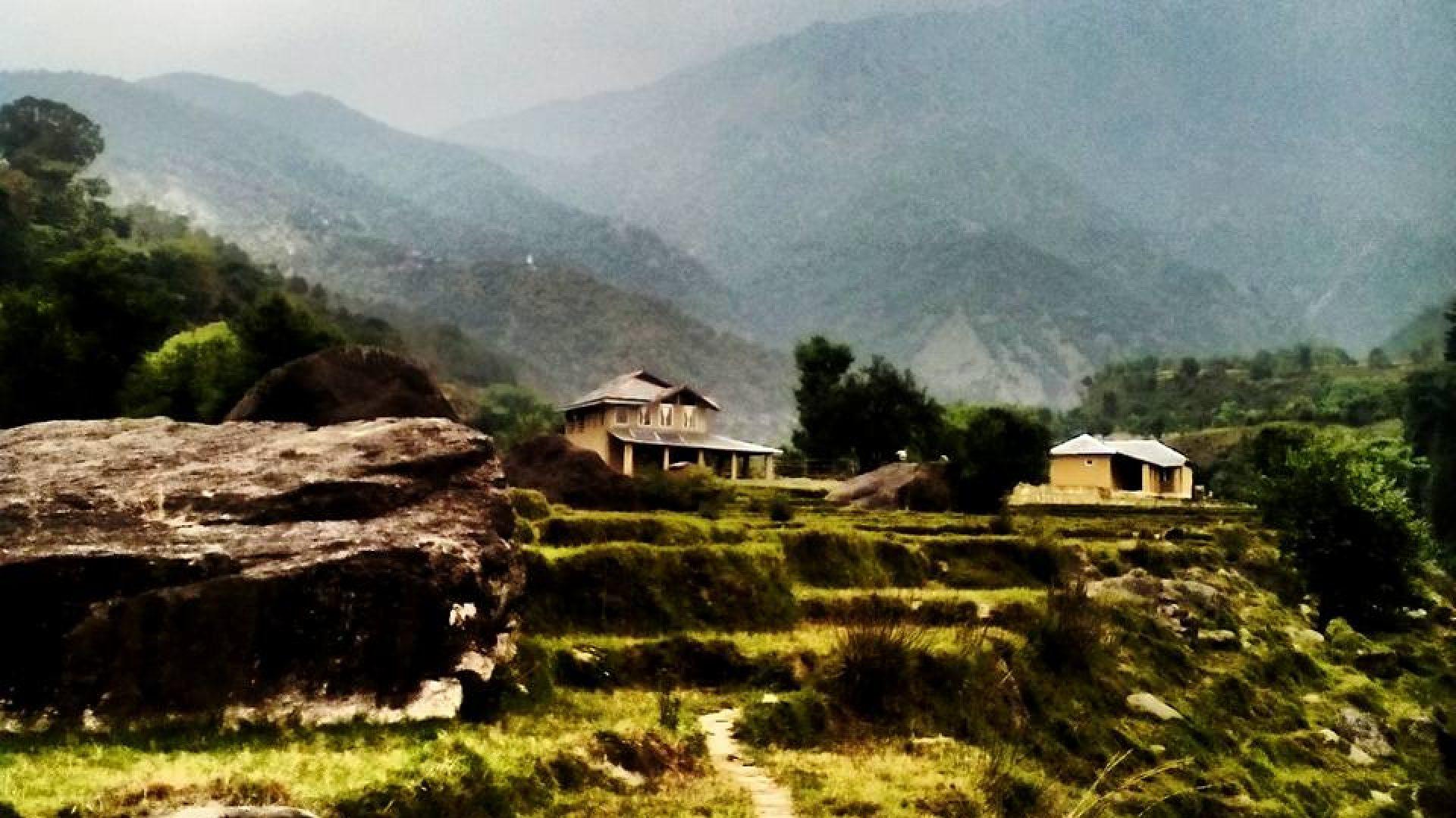 The Earth House, Chandpur Village, Palampur, Himachal Pradesh